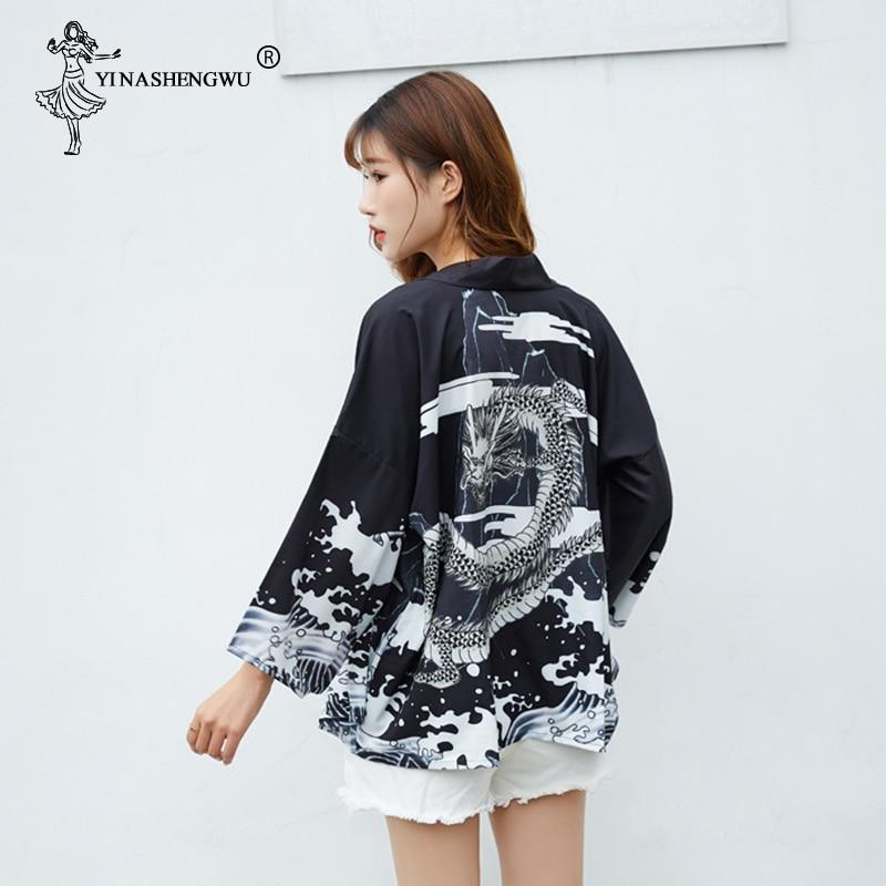 Harajuku Japanese Robes Streetwear…