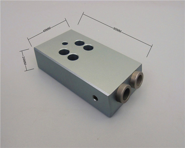 Woodworking Drilling Positioner Locator 9 5mm Pocket Hole Drill