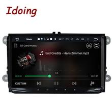 Idoing Android6.0 2G + 32G 8 Rdzeń 1Din Kierownicy Dla VW/Skoda/Seat Samochód Odtwarzacz multimedialny GPS Szybki Boot TV 1080 P GPS + GLONAS HDP
