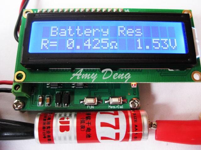 Battery internal resistance tester ESR capacitor online test proposedBattery internal resistance tester ESR capacitor online test proposed