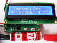 Battery internal resistance tester ESR capacitor online test proposed