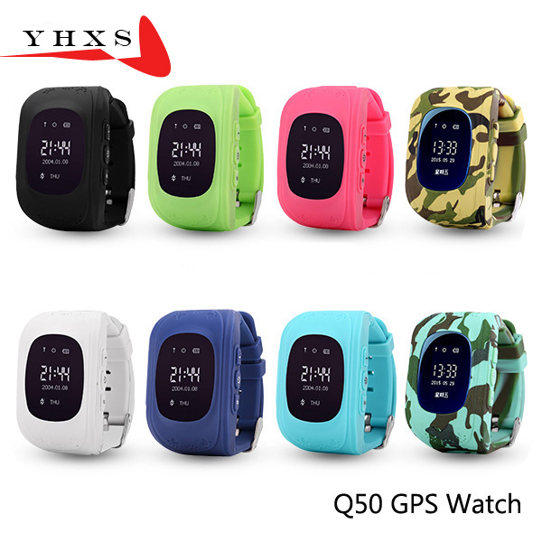 OLED Screen GPS Smart Kids Safe Watch SOS Call Location Finder Tracker for Child Anti Lost