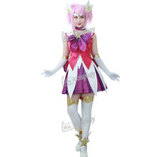 LOL The Lady Of Luminosity cos Lux Cosplay Costume Anime Women Dress