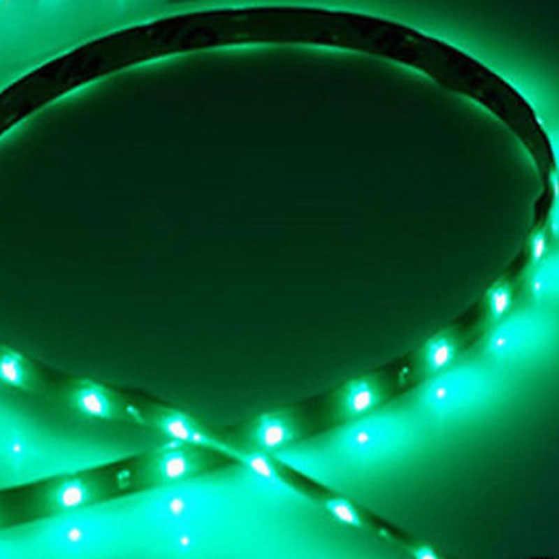 """2x ความปลอดภัยสีแดงและสีเขียวเรือนำทาง LED Strip แสง 12 """"กันน้ำ LED แถบสำหรับ Bass Tracker"""