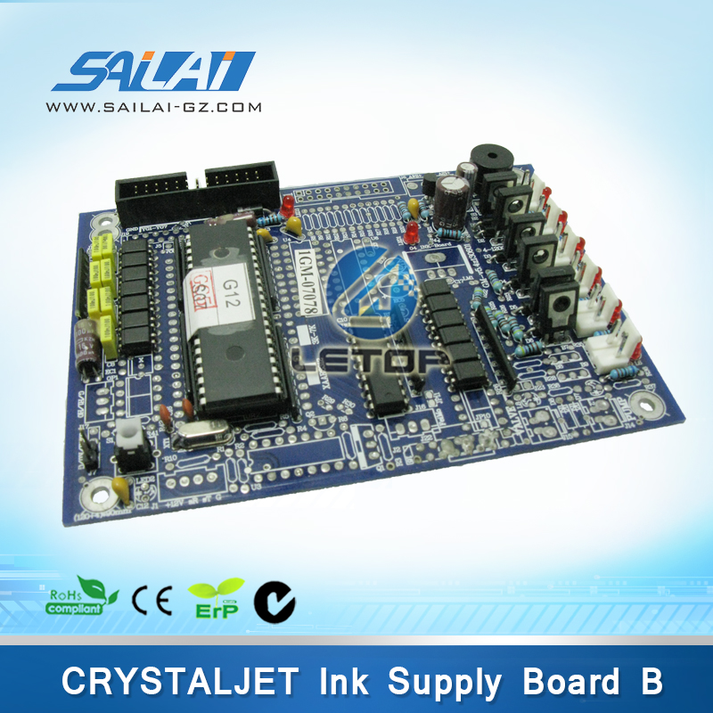 crystaljet 3000 solvent printer ink power supply board ink pressure board infiniti ink supply&heating board for 8230b 8320c 3360ec 8250sl 8250b 8250c main board printer part pcb