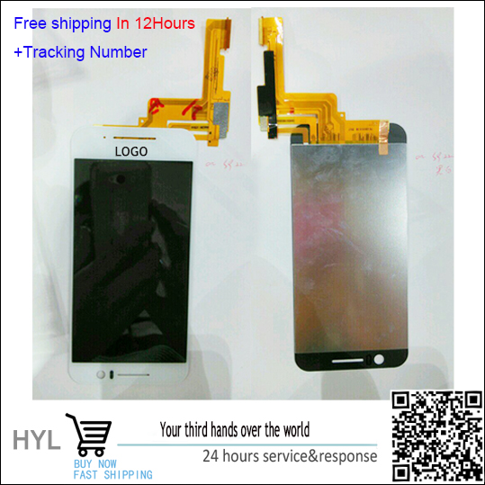 Original Black/white Touch Screen Glass LCD display Digitizer For HTC one S9 free shipping with tracking number 1 pcs for iphone 4s lcd display touch screen digitizer glass frame white black color free shipping free tools