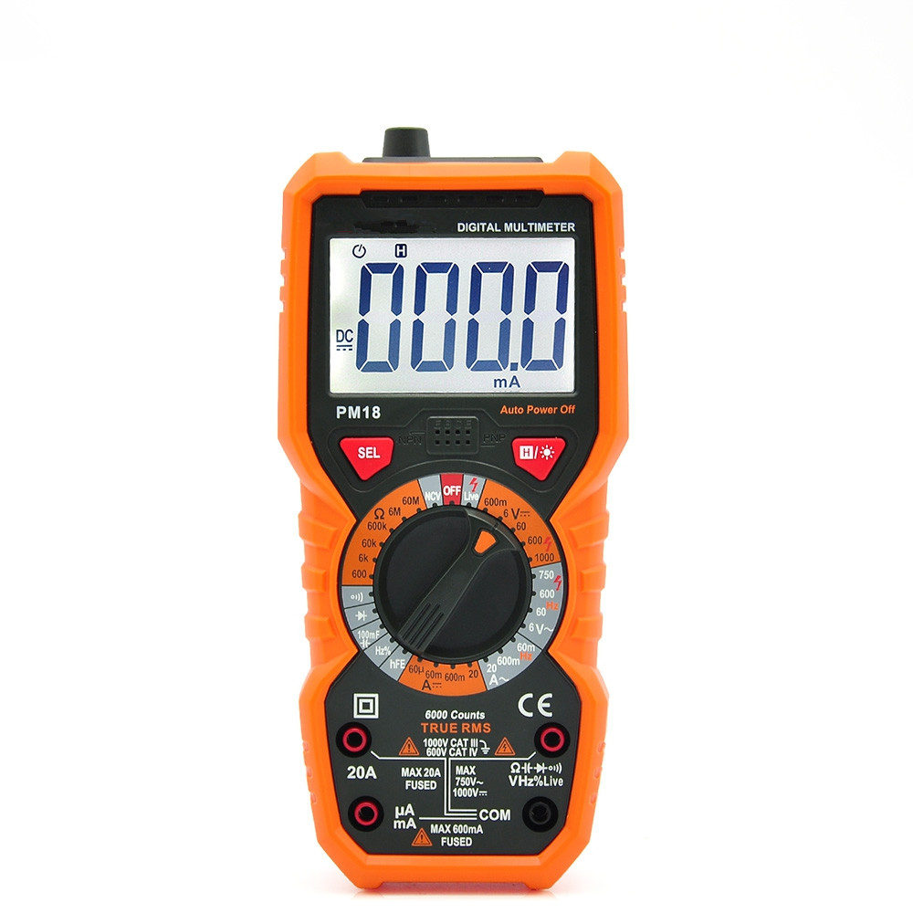 Frequency Multi function Maintenance Voltage meter Electrical Instrumentation Small Digital Display New Instrument Tester