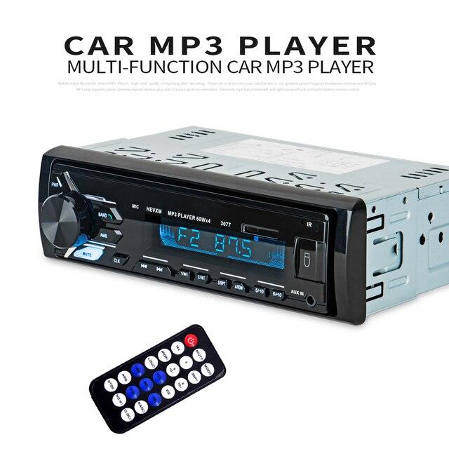 多機能 Bluetooth 車両 MP3 プレーヤー lcd ディスプレイ Mp3 ワイヤレスレシーバーカー FM ラジオ 3.5 ミリメートル AUX オーディオアダプタカーキット