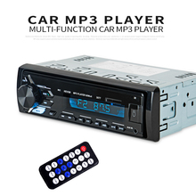 Multifunction Bluetooth Vehicle MP3 Player  LCD display Mp3 Wireless Receiver Car FM Radio 3.5mm AUX Audio Adapter Car Kit