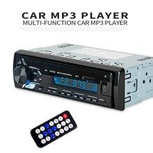 Multifunctionele Bluetooth Voertuig MP3 Speler LCD display Mp3 Draadloze Ontvanger Auto FM Radio 3.5mm AUX Audio Adapter Auto Kit