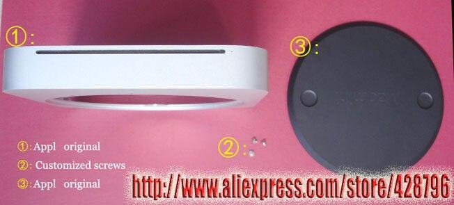 810-4027-A 100% boîtier d'origine pour 2010 2011 A1347 unité de boîtier principal en aluminium Unibody, sans fente pour CD ou avec fente pour CD