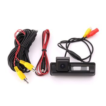 цена на Color CCD /HD camera Fit For Toyota 2007 and 2012 camry Car Rear View Camera Reverse Backup Camera parking aid