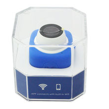 Blue Color 720P HD TF Card record Wide Angle 120degree Mini Cude WIFI