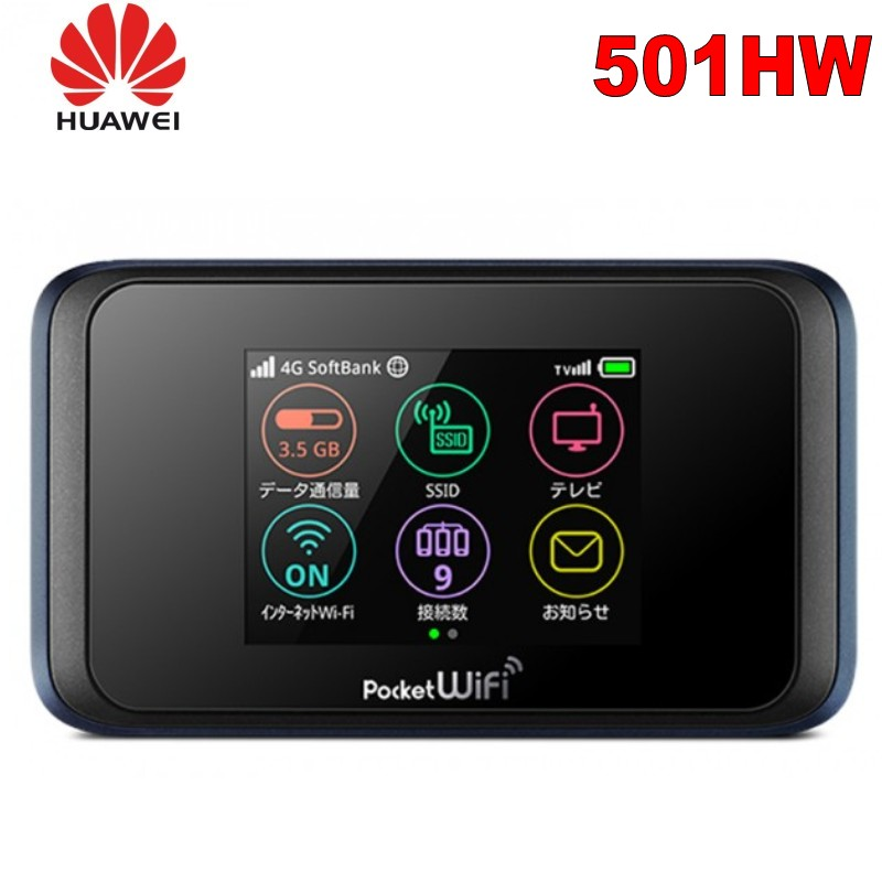Unlocked Huawei Pocket 501HW TV 4g Wifi Router Mini 5g Wifi Router With Sim Card Slot