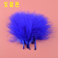 DIY Turkey Feathers 600 pcs 7-10cm blood marabou quills feather Wedding Decoration Feathers Plumes Clothing Accessories Feathers