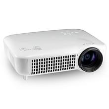 Оригинал VS627 ЖК-Проектор 1280×800 Пикселей 3000 Люмен 1080 P для Домашнего Кинотеатра Встроенный Wi-Fi Большой проекционный экран