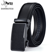 [DWTS]Belt Male Genuine Leather Strap Belts For Men Top Qual