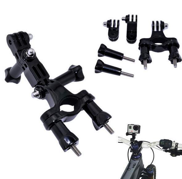 Велосипед мотоциклов Руль Seatpost полюс и 3Way Регулируемый поворотный рычаг для Go pro Hero2 3 3 + xiaomi yi SJ4000 SJ5000 F05738