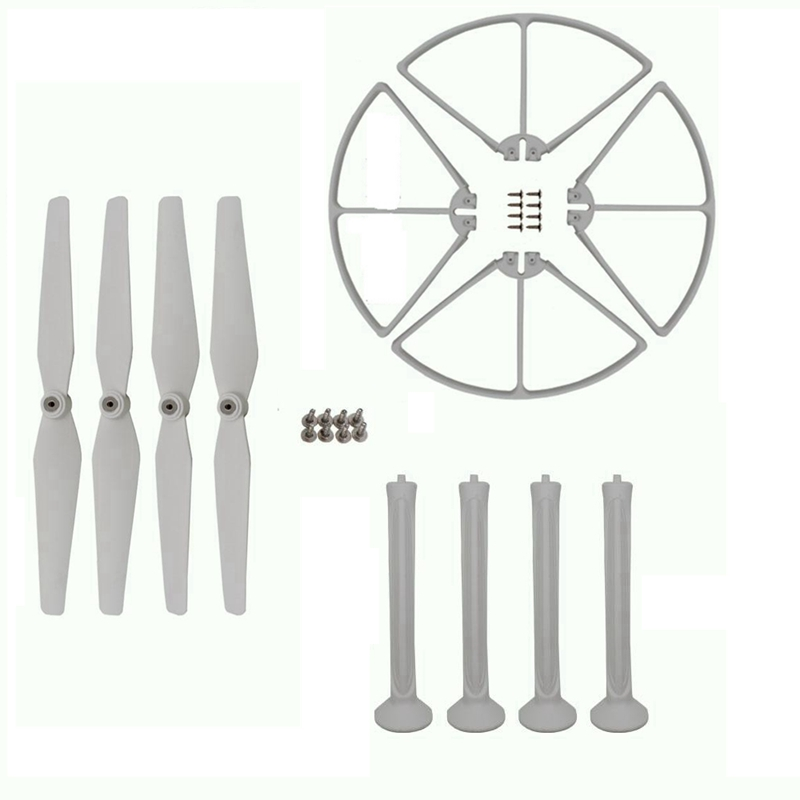 Quadcopter Kits Set Propeller Landing Gear Blades Protection For Syma X8c X8w X8g X8hc X8hw Rc Drone Accessories Spare Parts for syma x8c x8w rc quadcopter spare part blade propeller protection frame protector bumper 4pcs free shipping