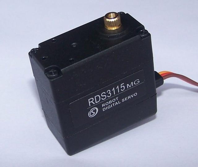 Free Shipping 17pcs Original  servo RDS3115 (no brackets) Metal gear Digital servo  For 17DOF humanoid Robbot frame