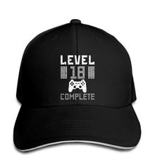 "Geek gamer ""Level 18 Complete"" hat"
