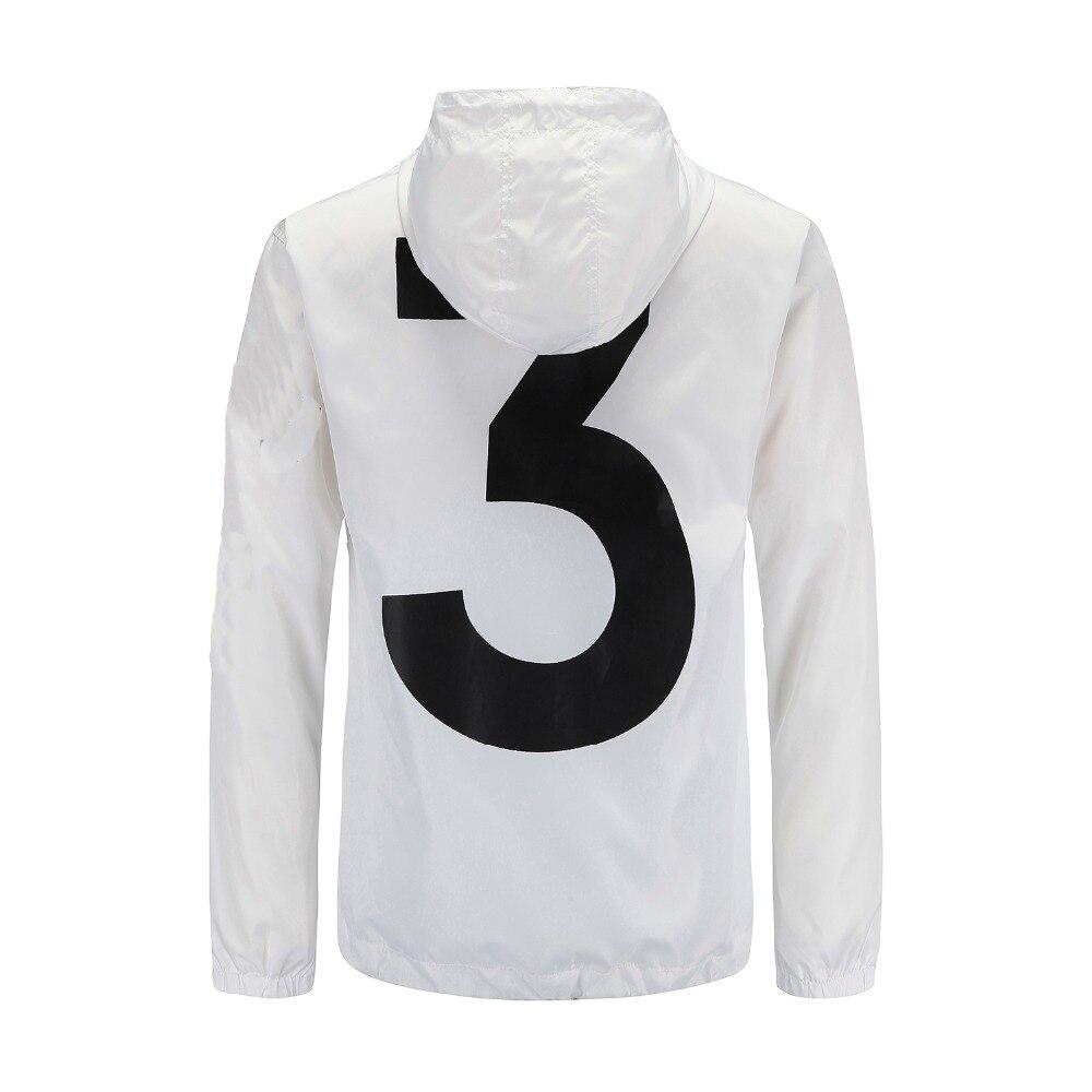 Moda 3 Tour TEMPORADA 3 chaqueta rompevientos hombres moda Logo letra impreso Hip Hop chaqueta Hombres estilo delgado chaqueta Casual