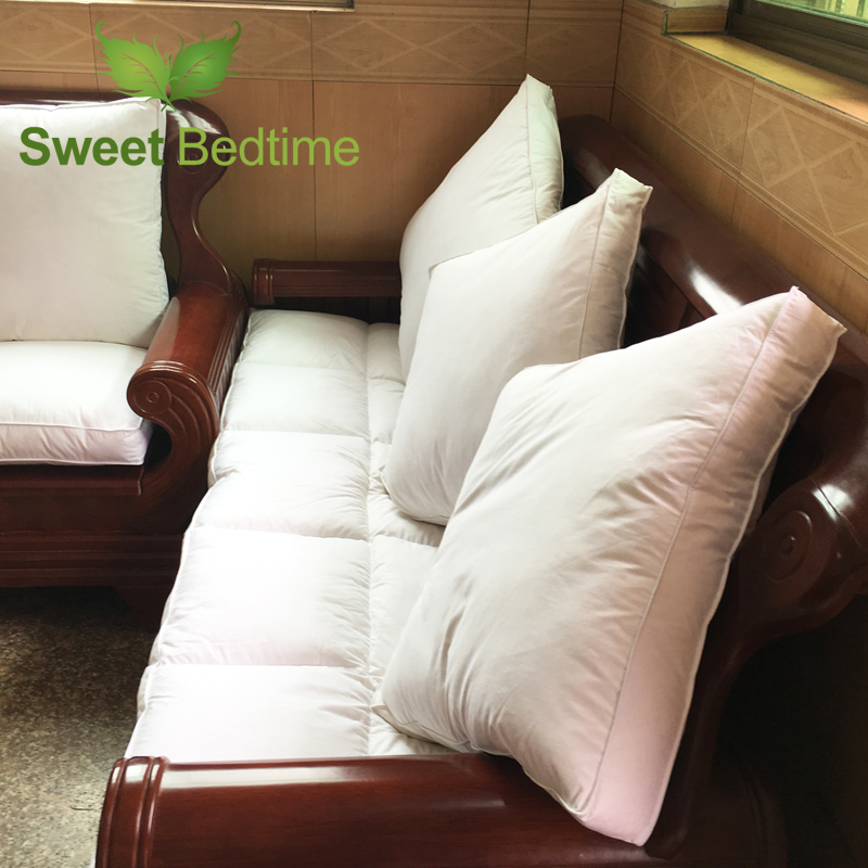 Attirant Aliexpress.com : Buy Custom Made Duck Down Feather Sofa Cushion Inserts  Back Cushion Inner Seat Floor Mat Bay Window Tatami Mat 55 Couch Pillows  Core From ...