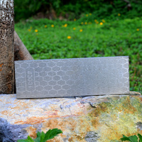Thick Diamond Sharpening Stone Knives Diamond Plate Whetstone Knife Sharpener 1piece