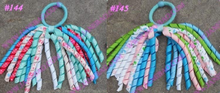 70 шт. резинки для хвоста стример смешать сотню цветов korker ponys растяжки красочные