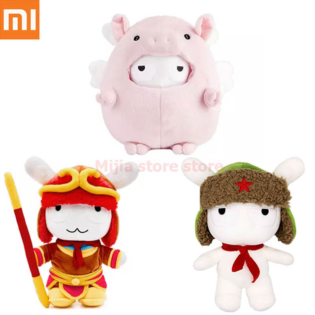 Xiaomi Mitu Rabbit Pig Doll / Classic Mitu Doll/ Wu kong Monkey PP Cotton Wool Cartoon Cute Toy Gift for Kids Child Girlfriend