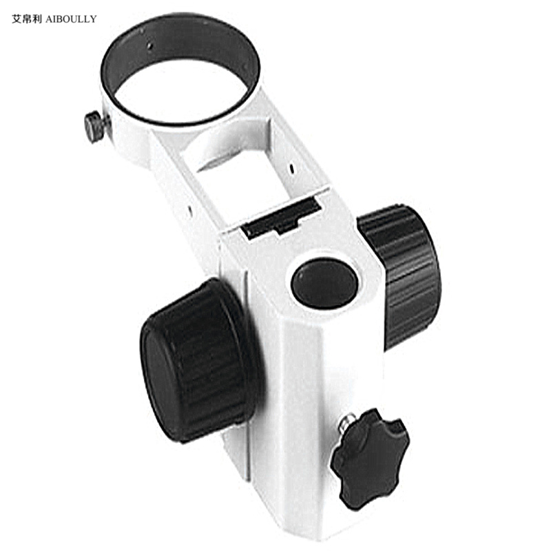 For stereoscopic microscope 76mm bracket Electronic microscope adjustment mechanism 32mm Microscope basketball stand zj 611 76mm track stand microscope stand