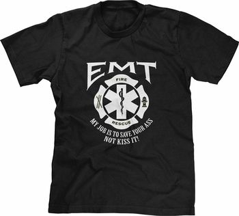 Camiseta de emergencia para técnicos médicos EMT