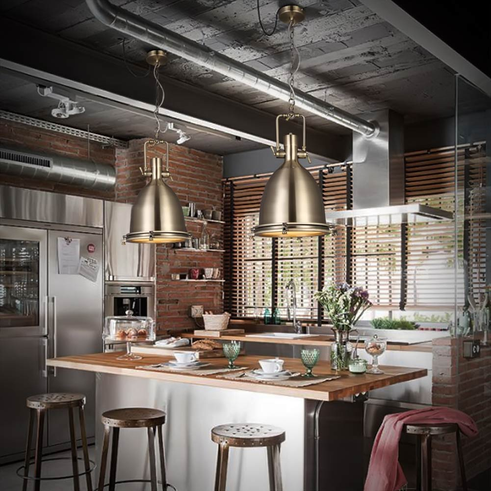 industrial retro restaurant pendant light north europea
