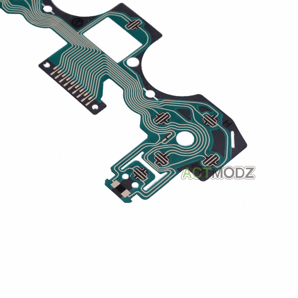 US $7 99 |2x Button Ribbon Circuit Board Film Pad Replace For PS4  Controller Dualshock 4-in Replacement Parts & Accessories from Consumer  Electronics