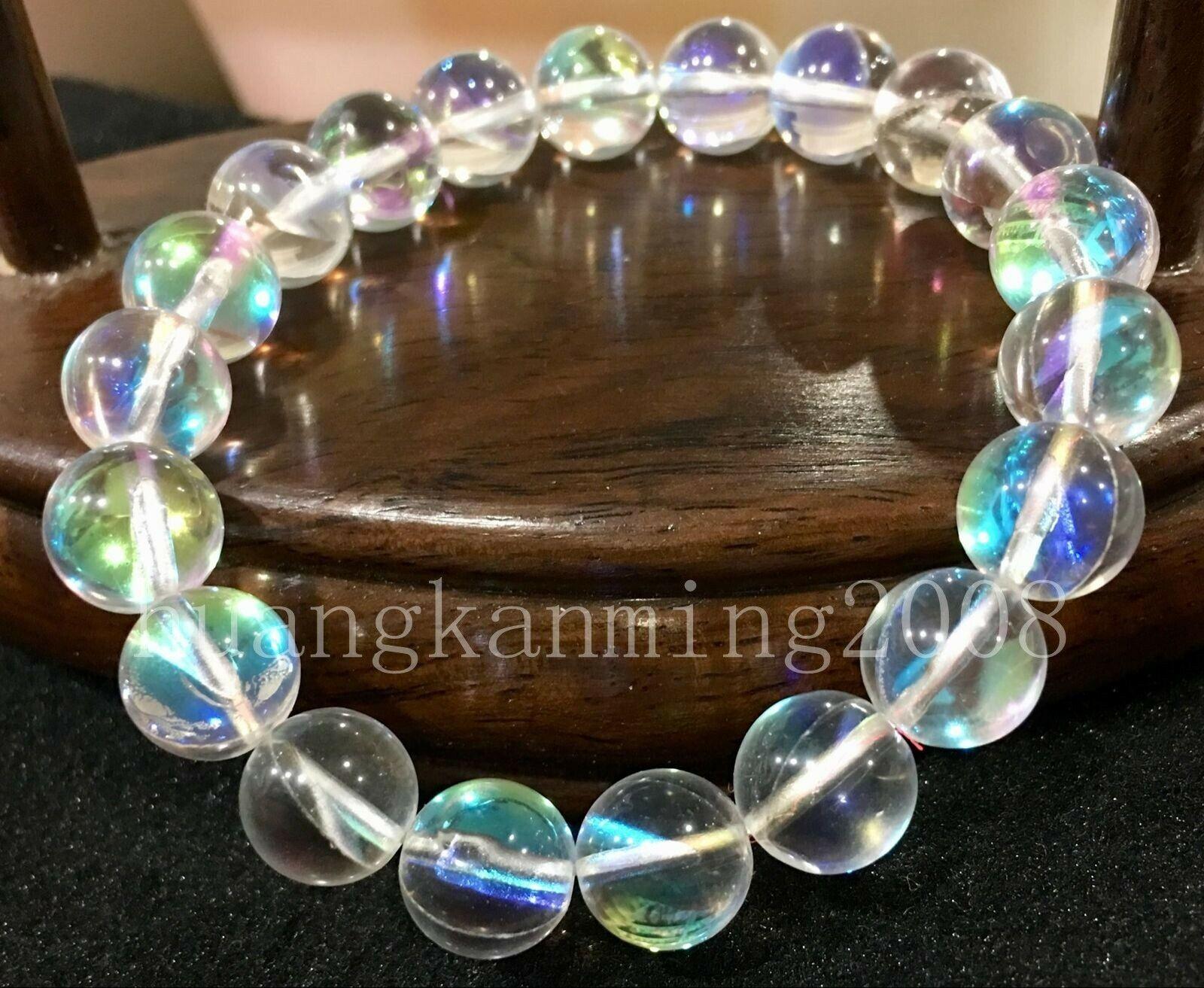 "Real Natural 6mm Natural Labradorita Redonda gemas suelta perlas 15/""AAA"