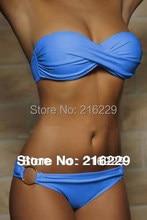 Strapless Push-Up Bikini Set
