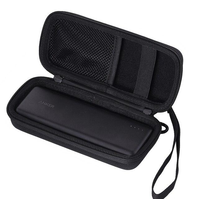 Caja de transporte de Banco de energía para Anker PowerCore 20100 cargador portátil Paquete de batería externa 20100 mAh bolsa de almacenamiento de viaje