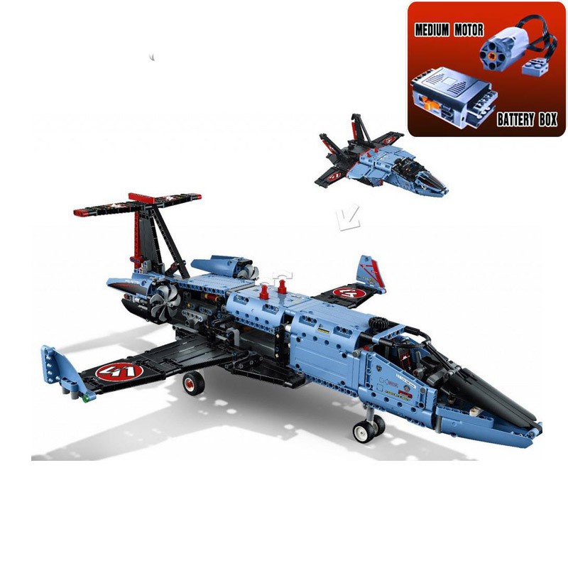 2017 New Arrival 20031 1151pcs Technic Series The jet racing aircraft Model Building Kits Brick Toy Compatible with Lepin 42066 цена и фото