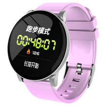 New fashion W8 1.3inch IPS color screen smart watch heart rate blood pressure oxygen monitoring step sports