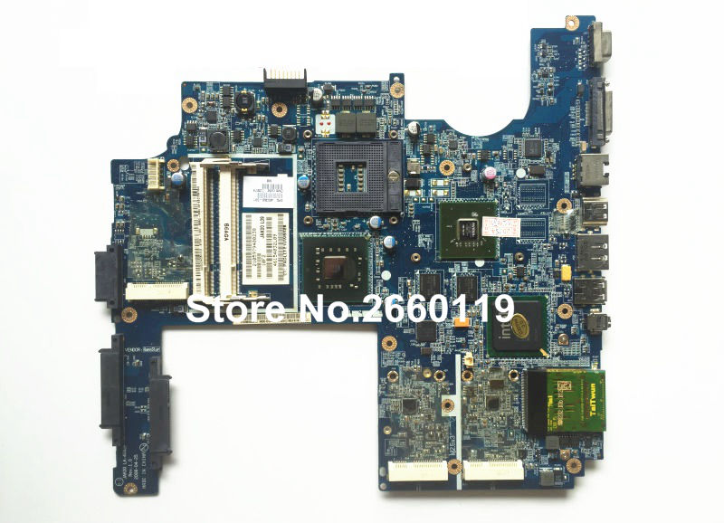 laptop motherboard for HP DV7 480366-001 system mainboard fully tested and working well 600862 001 mainboard for hp dv7 laptop motherboard 100