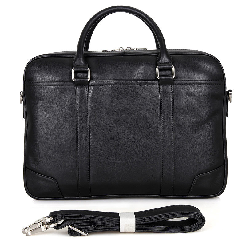 цена Real Cowhide Laptop Bag Men Briefcase Business Travel Handbag Messenger Shoulder Laptop Bags Genuine Leather Bag Men Briefcases