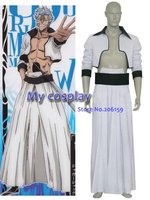 Anime Bleach Grimmjow Men's Cosplay Costumes for Halloween Cosplay party Men Kimono Clothing Apparel