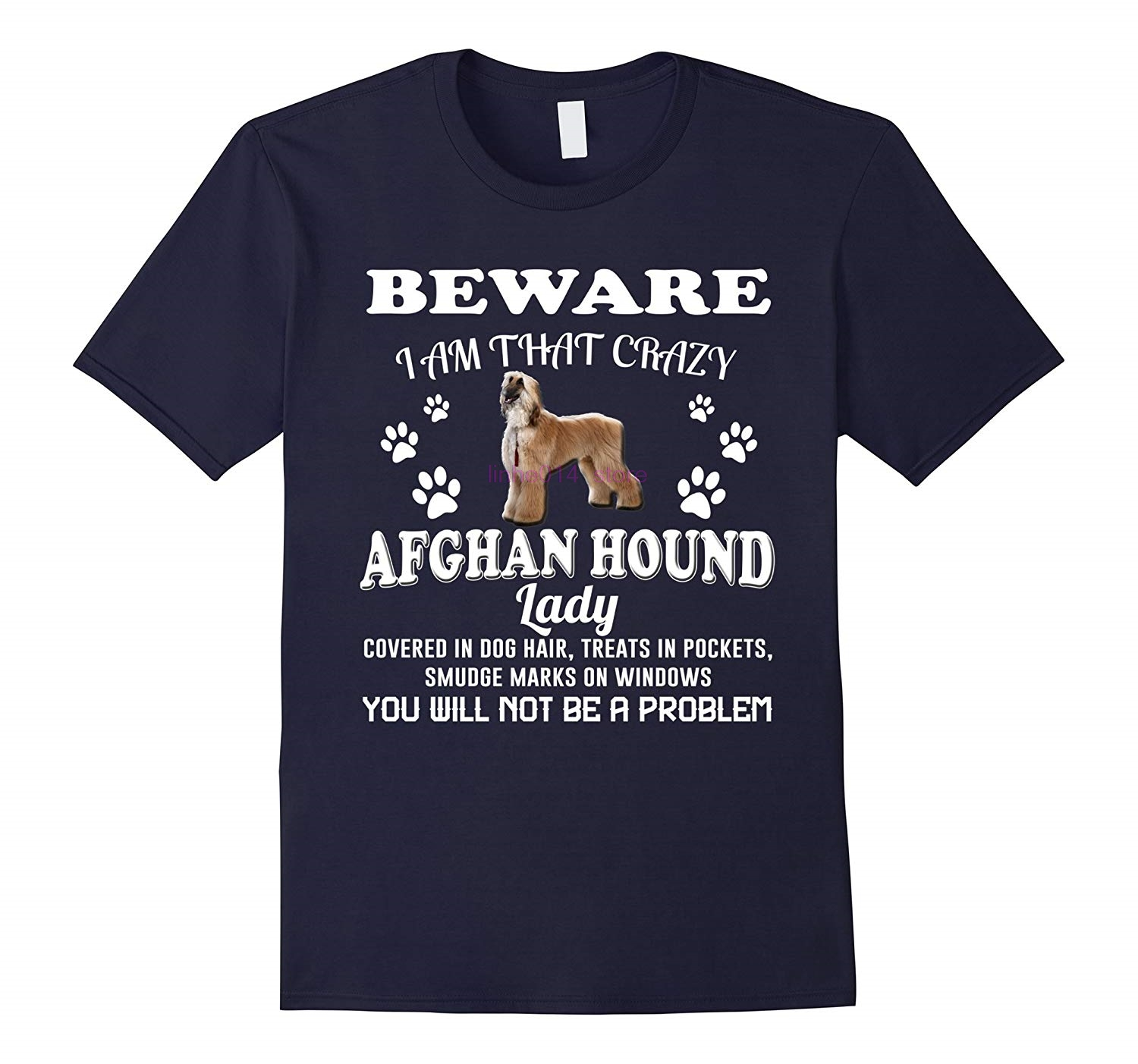 GILDAN brand men shirt Afghan Hound Shirt Gifts For Mom Dad Love Dog Women T Shirt