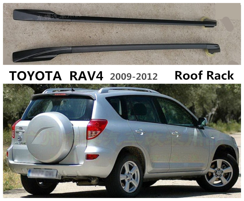 Car Roof Racks luggage Rack bar For TOYOTA RAV4 2009 2010 2011 2012 High Quality Aluminium Alloy Auto AccessorieCar Roof Racks luggage Rack bar For TOYOTA RAV4 2009 2010 2011 2012 High Quality Aluminium Alloy Auto Accessorie