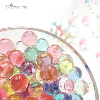 5kg koraliki wodne w kształcie perły kryształ wodne kuleczki do gleby błoto rosną magiczne kulki żelowe ślubny wystrój domu hydrożel mix tanie i dobre opinie meowxtime Kryształ gleby Crystal Soil mix rainbow color hydrogel