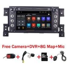 Autoradio Android 10, écran tactile 7 pouces HD IPS, lecteur DVD, Wifi, 3G, caméra au volant, carte DVR, pour Suzuki Grand Vitara