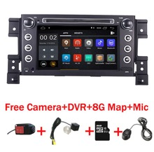 7 «HD ips сенсорный экран Android 8,1 автомобильный dvd-плеер для Suzuki Grand Vitara Радио Стерео DVD Wifi 3g рулевое колесо камера DVR карта