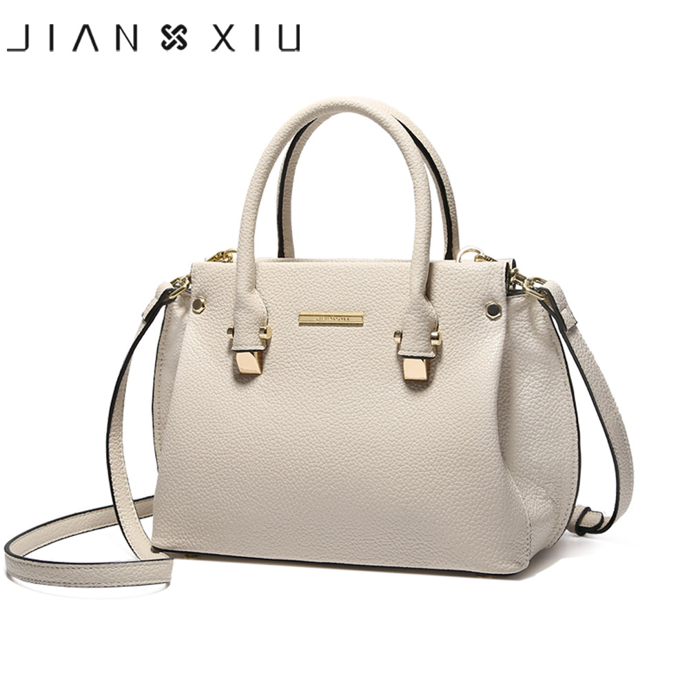 Women Genuine Leather Handbags Famous Brands Handbag Messenger Small Bags Shoulder Bag Tassen Sac a Main 2017 Fashion Borse Tote jianxiu brand women genuine leather handbags famous brands handbag messenger small bags shoulder bag ladies tote 2018 new borse