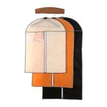 3 цвет одежды Пылезащитная одежда пальто костюм чехол Пылезащитная сумка для хранения дышащий