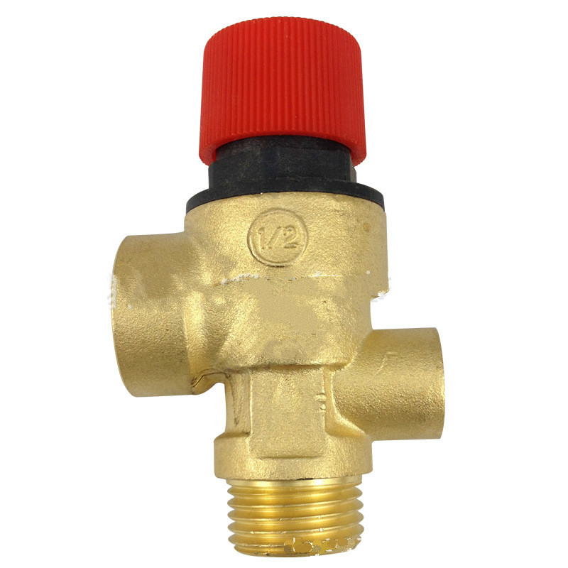 1/2 DN15  3 bar safety valve relief valve for solar water heater dn15 dn20 boiler solar energy water heater relief valve water inlet valve